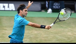Roger Federer defeats Nick Kyrgios in three sets, winning 85 per cent of first-serve points to advance to the MercedesCup final.