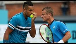 Kyrgios-Hewitt-London-Queens-2018-Wednesday