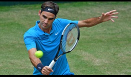 Roger Federer falls to 2-1 in his FedEx ATP Head2Head series against Borna Coric on Sunday in Halle.