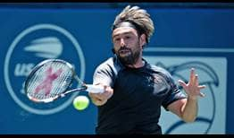 Marcos Baghdatis reaches his second tour-level quarter-final of the season with a victory against #NextGenATP American Frances Tiafoe.