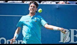 Cameron Norrie comes from a set down against sixth seed Jeremy Chardy to set a quarter-final clash against Nick Kyrgios.