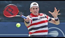 John Isner reaches his ninth semi-final at the BB&T Atlanta Open with a three-set win against Mischa Zverev.