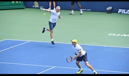 Henri Kontinen and John Peers do not face a break point in their championship victory against Raven Klaasen and Michael Venus on Sunday.