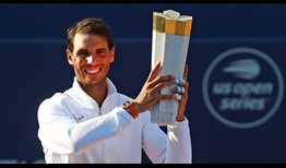 Rafael Nadal claims a fourth Rogers Cup title and a record 33rd ATP World Tour Masters 1000 crown.