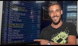 Damir Dzumhur, the fifth seed in Winston-Salem this year, reached his maiden ATP World Tour final in North Carolina a year ago in North Carolina.