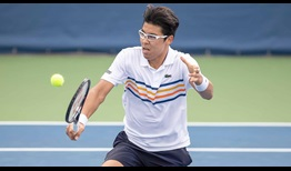 Hyeon Chung will look to win his first ATP World Tour title this week in Winston-Salem.