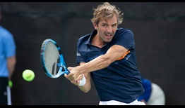 France's Julien Benneteau plays his final ATP World Tour match at the Winston-Salem Open.