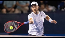 Steve Johnson reaches his third final of the season on Friday at the Winston-Salem Open.