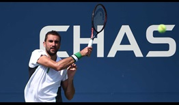 Cilic US Open 2018 Day Two