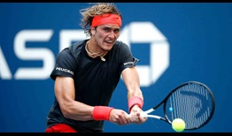 Zverev US Open 2018 Day Two