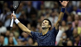 Djokovic US Open 2018 Final Arms Up