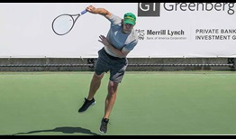 Andy Roddick participates in the Dirk Nowitzki Pro Celebrity Tennis Classic for the third consecutive year.