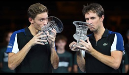 Nicolas Mahut and Edouard Roger-Vasselin triumph together at the Moselle Open for the second time by defeating Ken Skupski and Neal Skupski.