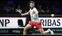 Gilles Simon plays in his third ATP World Tour final of the season on Sunday in Metz.