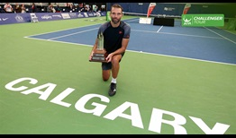 Ivo Karlovic reigns in Calgary, Canada, claiming his first ATP Challenger Tour title in seven years.