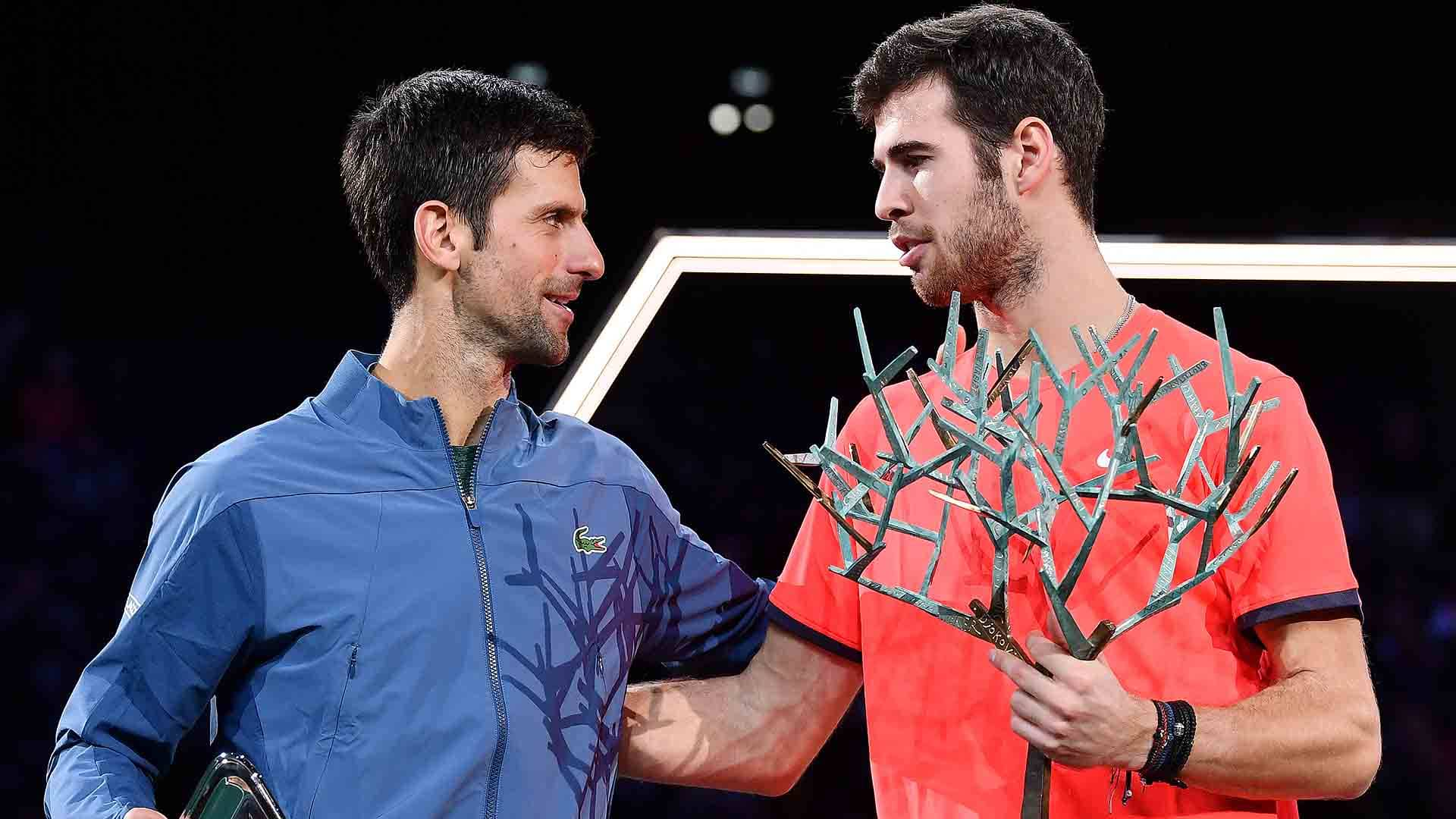 Djokovic, Khachanov