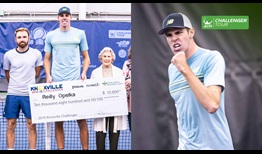 Reilly Opelka claims his second ATP Challenger Tour title of the year, prevailing in Knoxville.