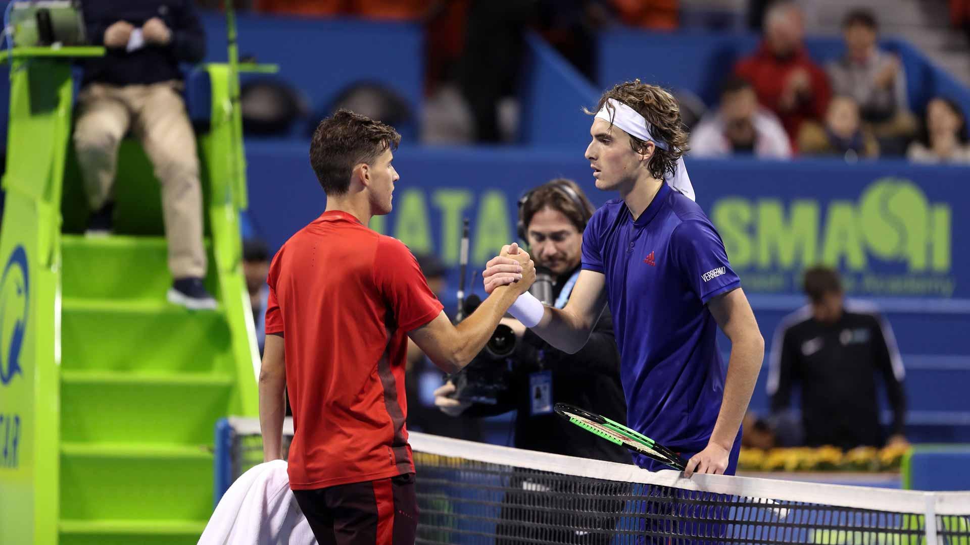 Rivalries Of 2018 Thiem Vs Tsitsipas Atp Tour Tennis