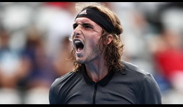 #NextGenATP Greek Stefanos Tsitsipas defeats Guido Andreozzi in straight sets at the Sydney International on Wednesday.