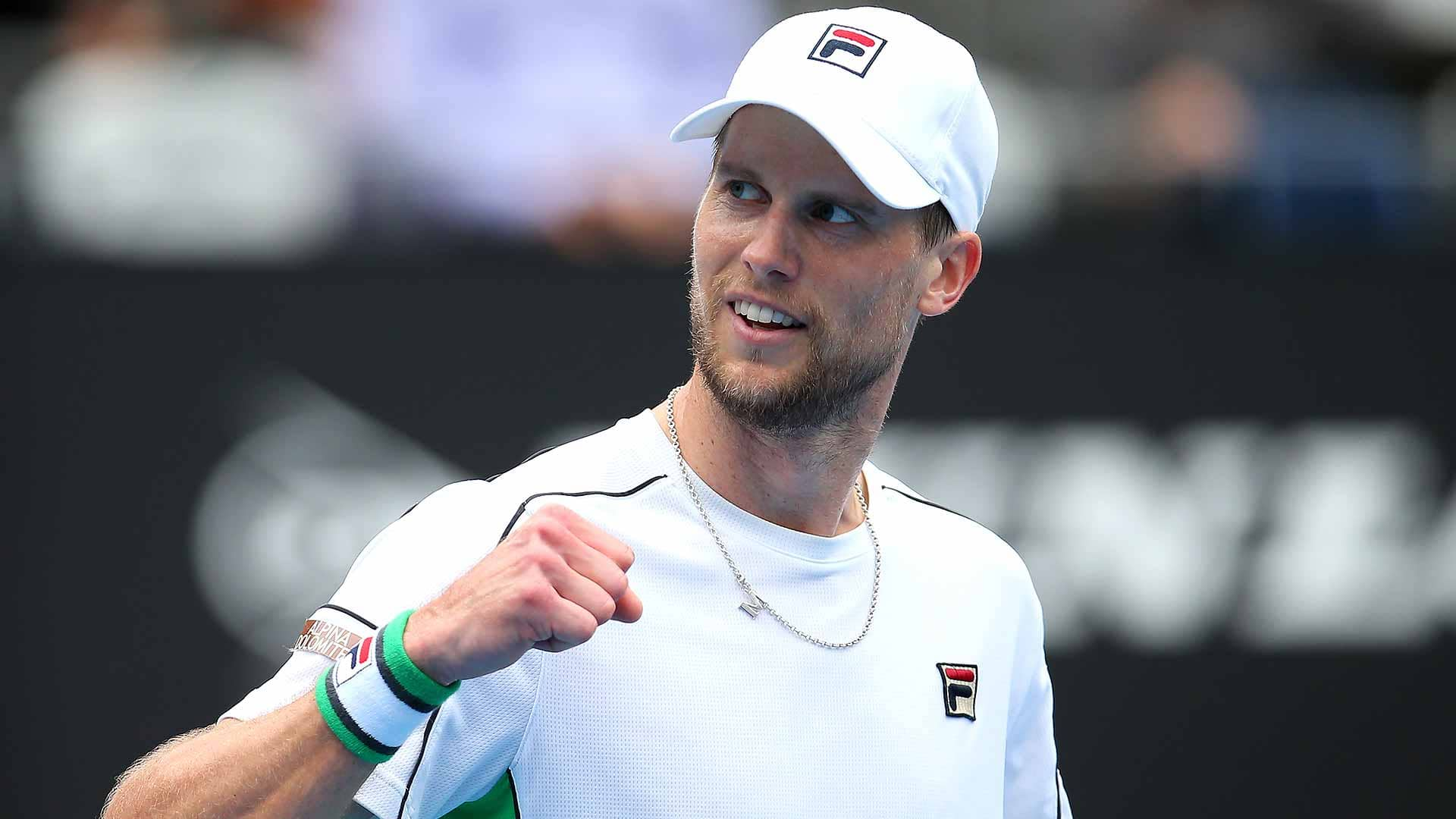 Andreas Seppi beats Stefanos Tsitsipas at the Sydney International