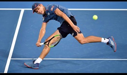 Fifth seed Alex de Minaur overcomes a lapse in concentration to beat fellow Australian John Thompson in Sydney on Thursday.