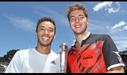 Ben McLachlan and Jan-Lennard Struff beat 2018 Nitto ATP Finals qualifiers Raven Klaasen/Michael Venus to lift the Auckland title.