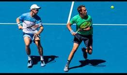 Peers-Kontinen-Australian-Open-2019-Thursday26