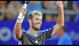 Juan Ignacio Londero on Saturday defeats Federico Delbonis in exactly one hour to reach his first ATP Tour final.