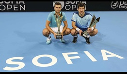 Nikola Mektic and Jurgen Melzer defeat Cheng-Peng Hsieh and Christopher Rungkat to win the Sofia Open on Sunday.
