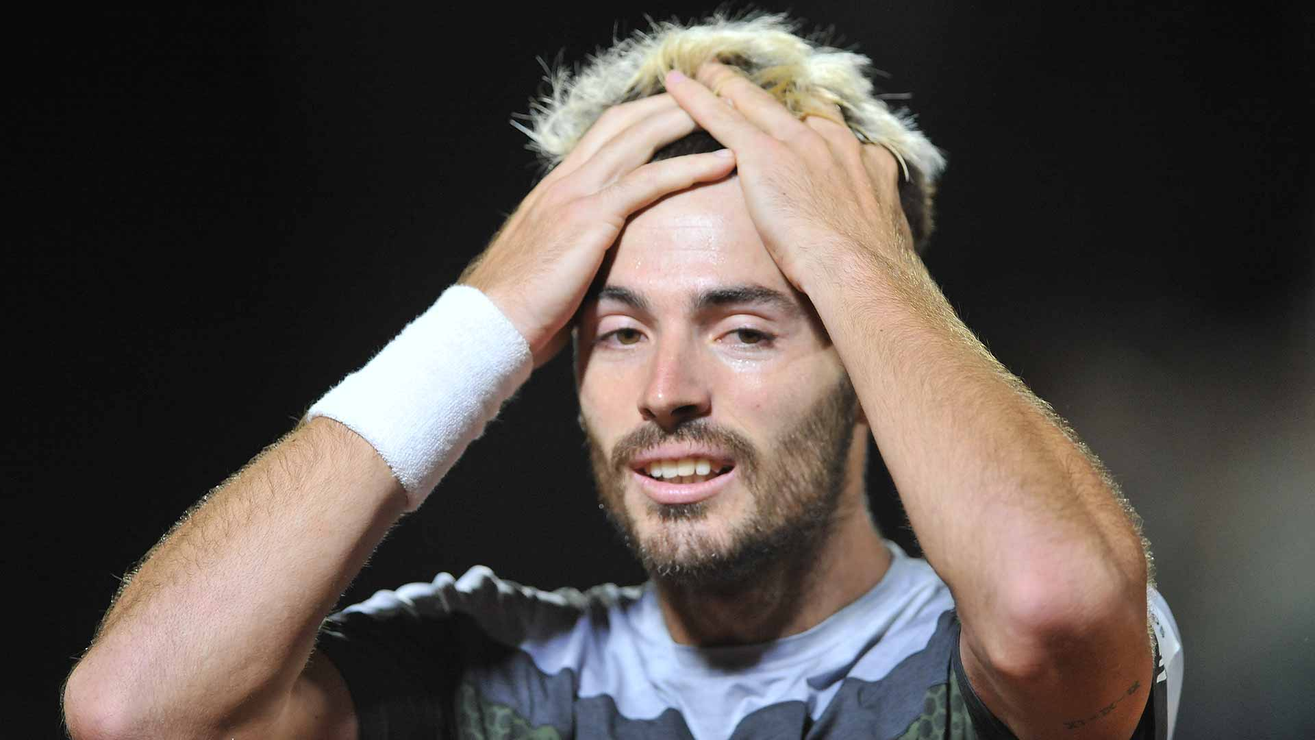 Londero is in disbelief after winning his first ATP Tour title
