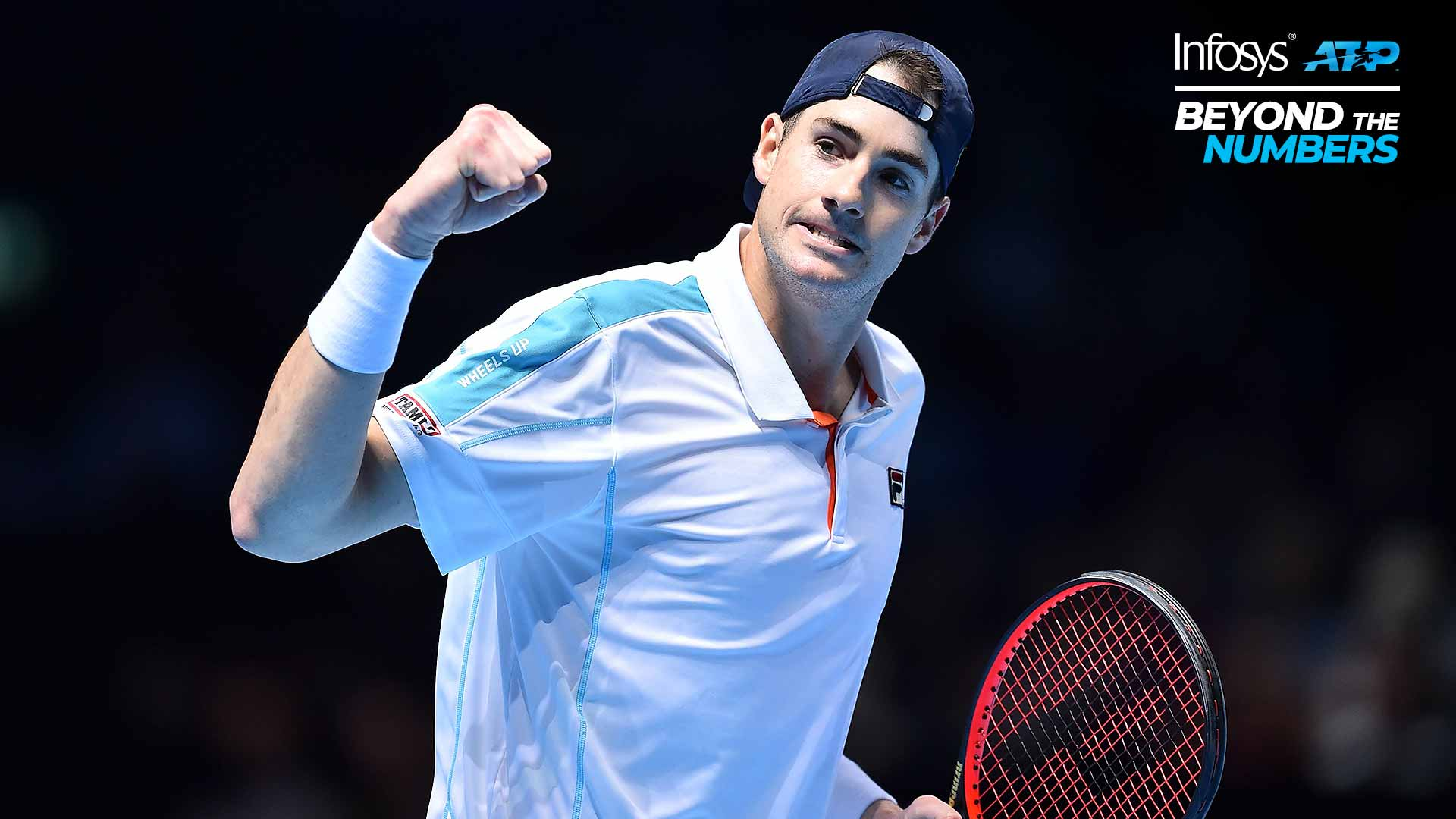 John Isner aces break points