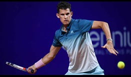Dominic Thiem finishes with a flourish against Pablo Cuevas to reach the Argentina Open semi-finals.