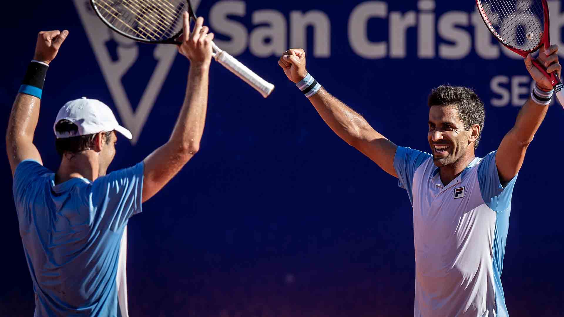 Horacio Zeballos and Maximo Gonzalez win their maiden ATP Tour title as a team at the Argentina Open on Sunday.