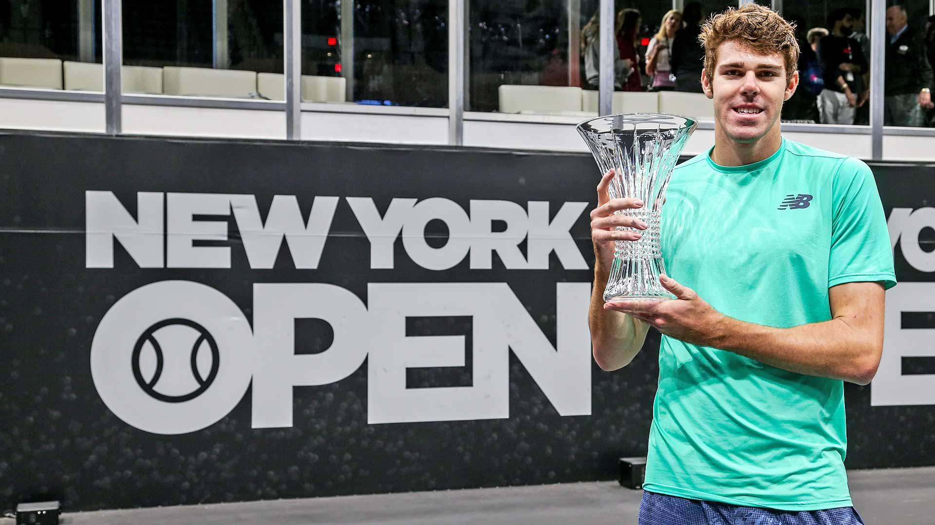 Opelka Wins 2019 <a href='https://www.atptour.com/en/tournaments/new-york/424/overview'>New York Open</a>