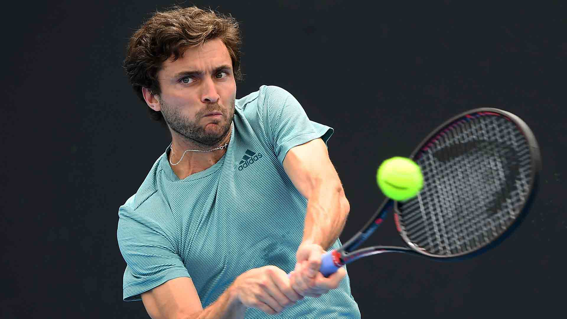 Gilles Simon is aiming to lift his third Open 13 Provence title this week.