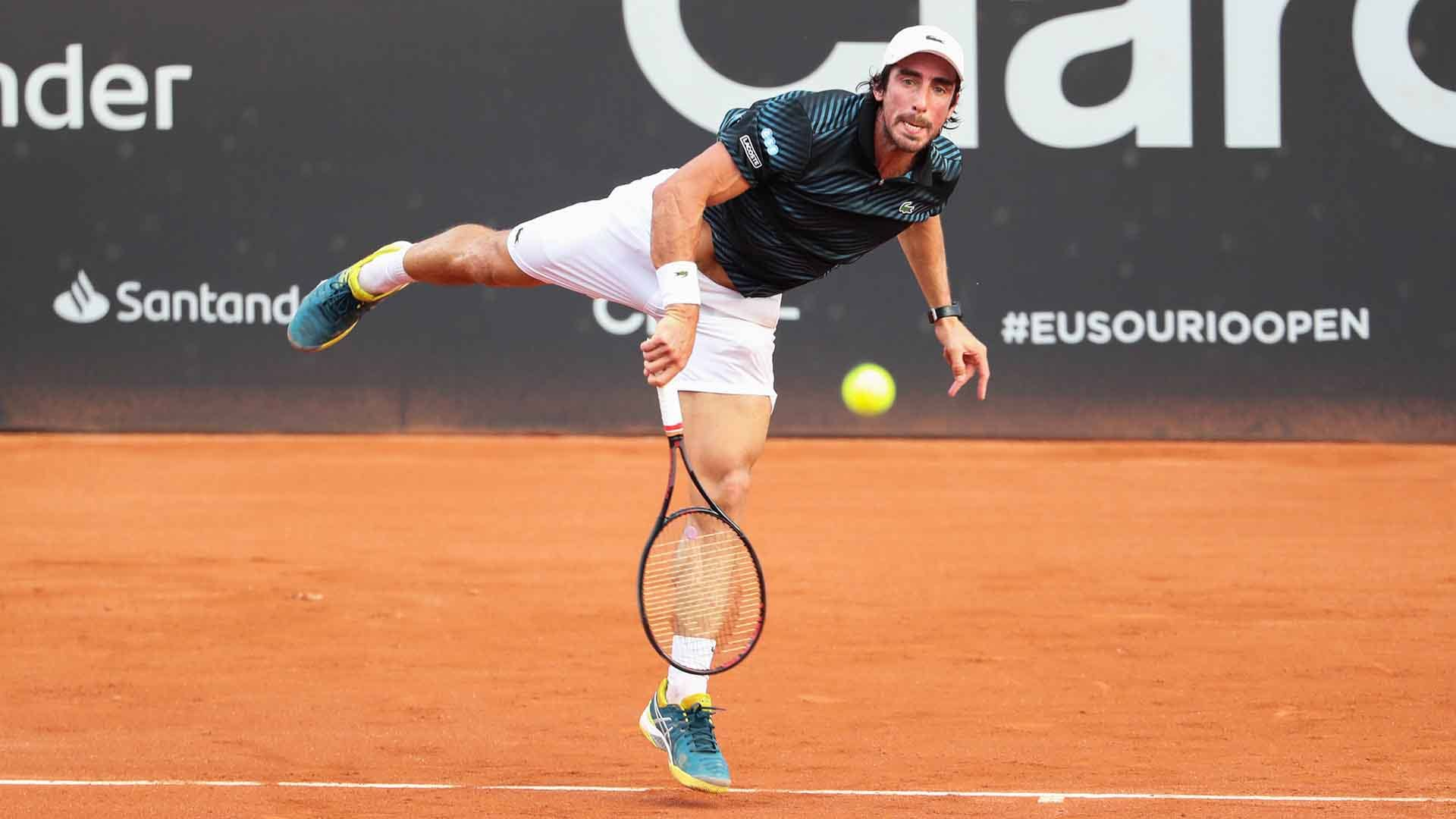 Pablo Cuevas is bidding to lift his second Rio Open presented by Claro title this week.