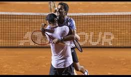 Nicolas Jarry and Maximo Gonzalez pick up their first ATP 500 title at the Rio Open presented by Claro.