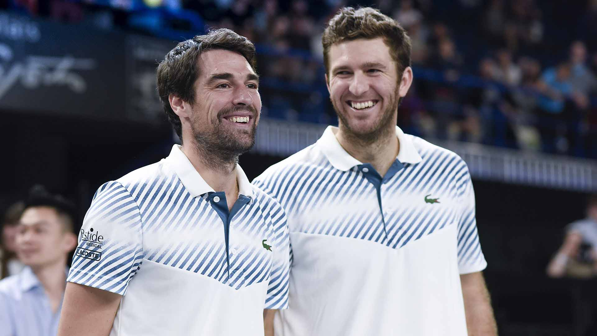 Jeremy Chardy and Fabrice Martin win their second ATP Tour title as a team at the Open 13 Provence.