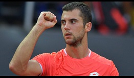 Laslo Djere wins his first ATP Tour title on Sunday at the Rio Open presented by Claro.