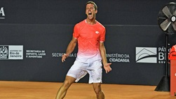 Laslo Djere beats Auger-Aliassime to win the Rio Open presented by Claro