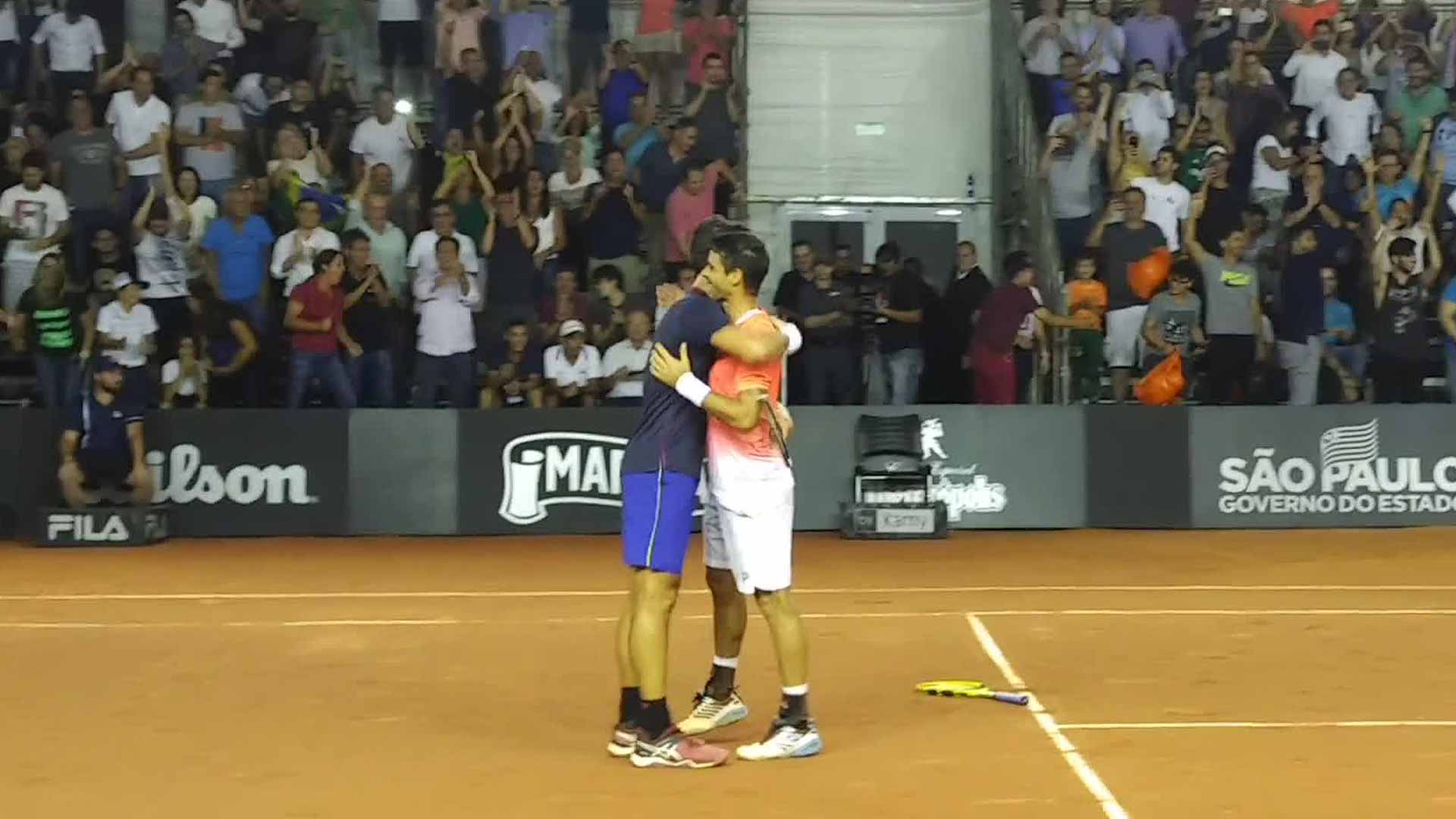 Bellucci/Dutra Silva feel the home support in Sao Paulo