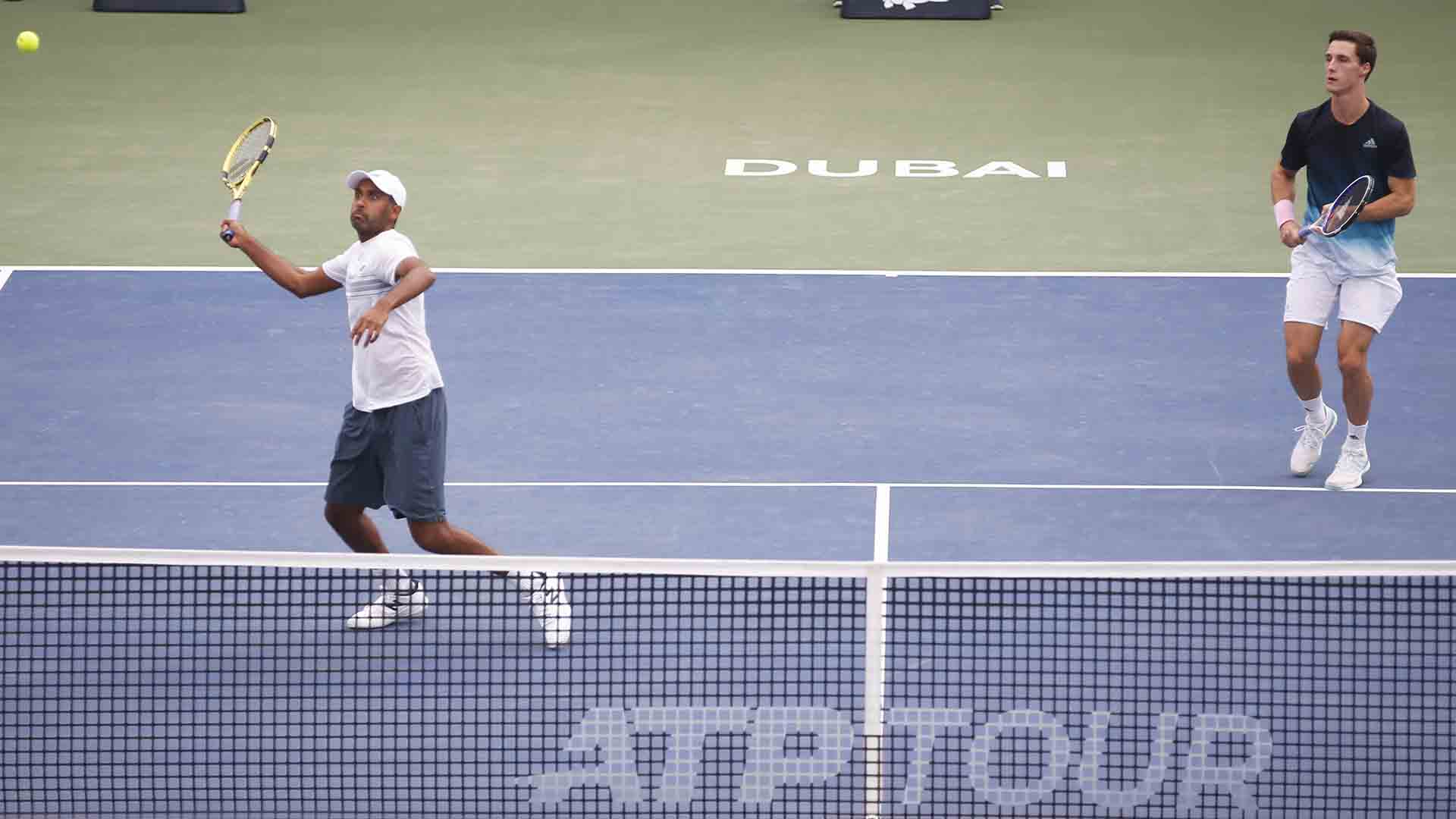 Rajeev Ram and Joe Salisbury reach their second tour-level final of the season.
