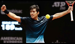 Christian Garin defeats Casper Ruud in straight sets to reach his first ATP Tour final at the Brasil Open on Saturday.