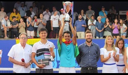Hugo Dellien is the champion in Santiago, claiming his fourth ATP Challenger Tour title.