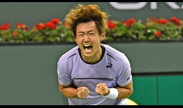 Nishioka-Indian-Wells-2019-Monday-Celebration