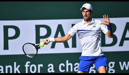 Prior to Tuesday, five-time former Indian Wells champion Novak Djokovic had beaten Philipp Kohlschreiber in eight of their nine matches.