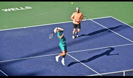 Mate Pavic and Oliver Marach win 85 per cent of their service points en route to victory on Wednesday in Indian Wells.