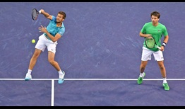 Nikola Mektic and Horacio Zeballos reach the Indian Wells final in just their second tournament as a team.