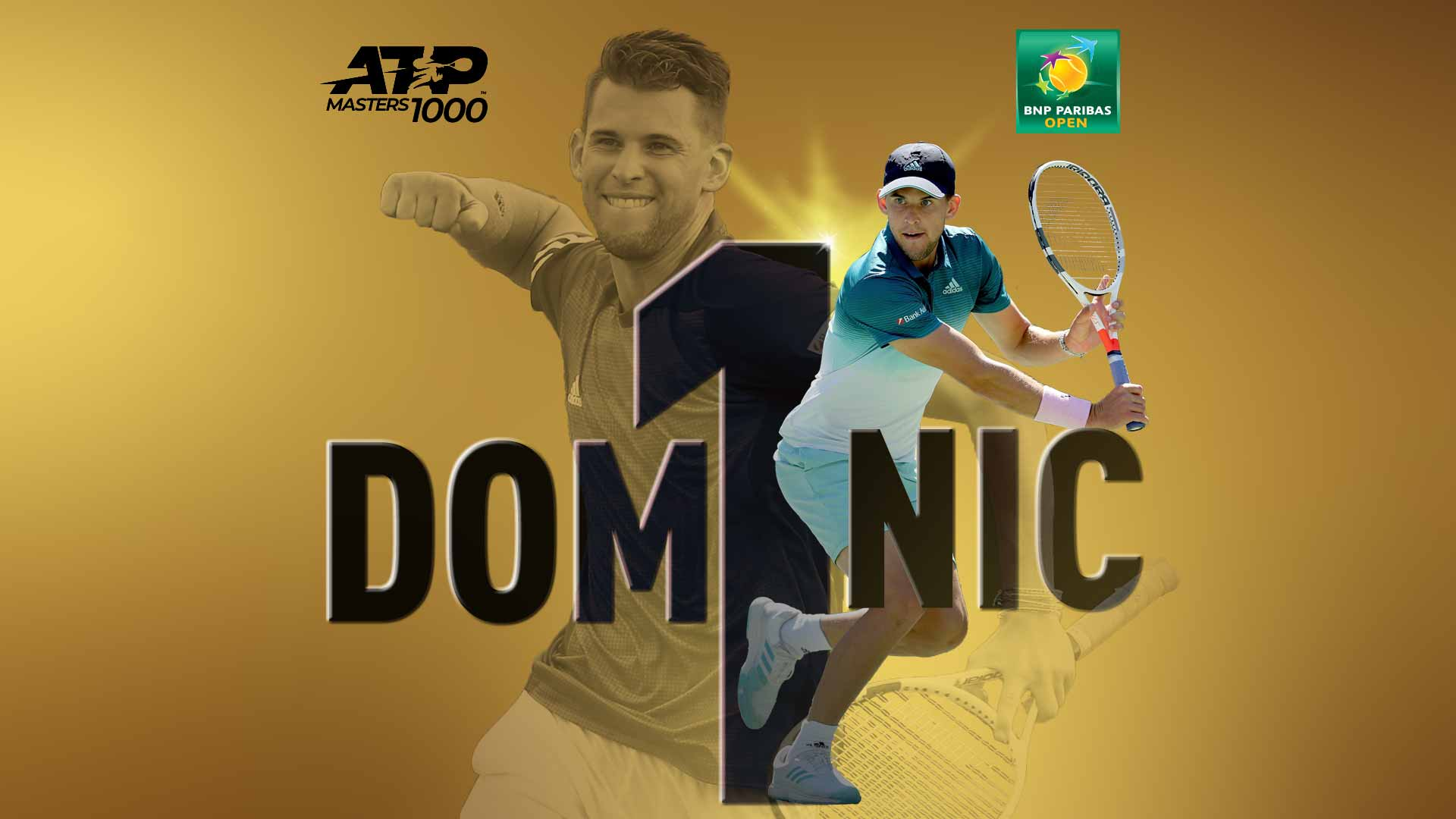 <a href='https://www.atptour.com/en/players/dominic-thiem/tb69/overview'>Dominic Thiem</a> wins his first ATP Masters 1000 title