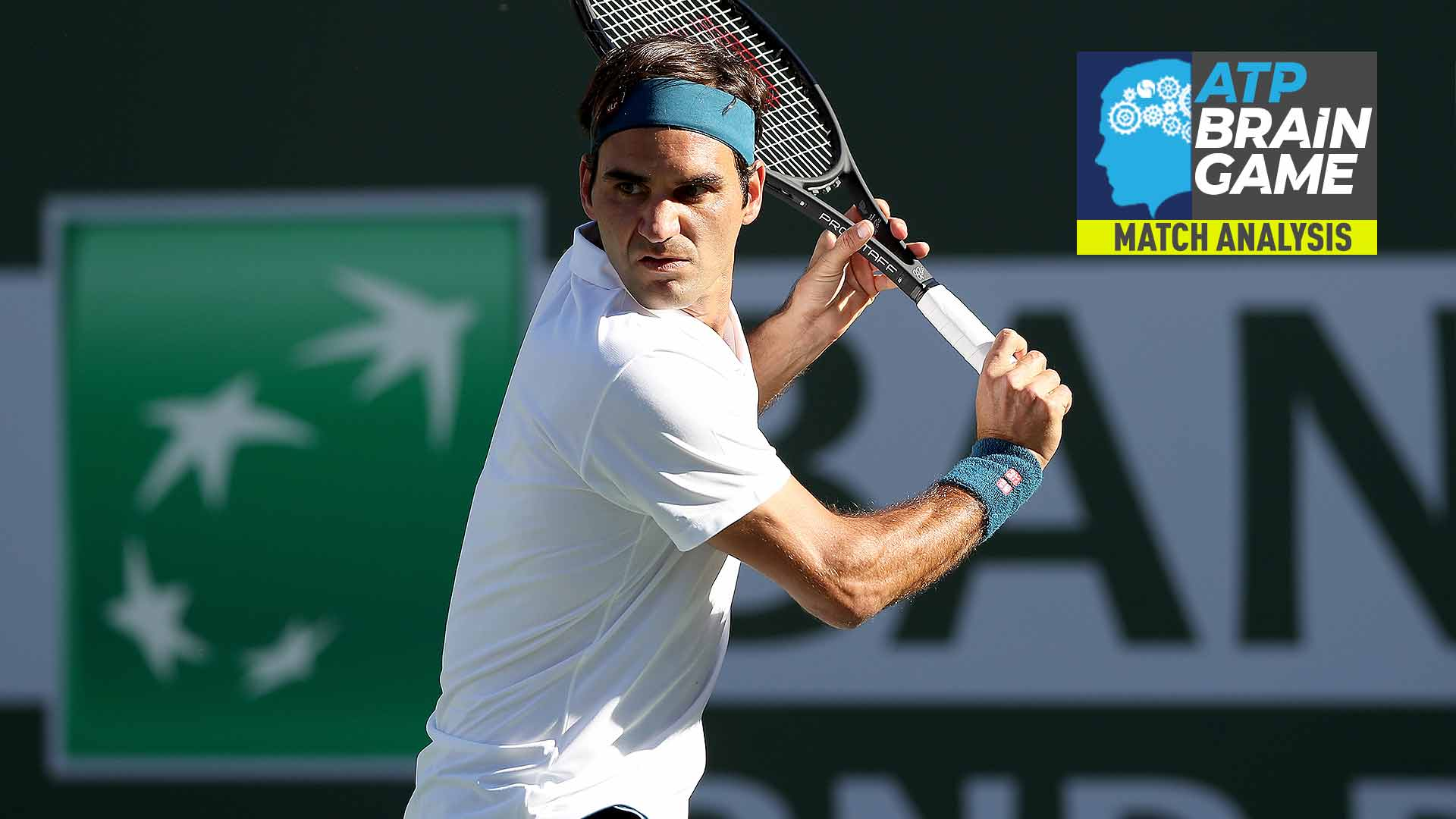 Roger Federer's backhand lets him down in the Indian Wells final
